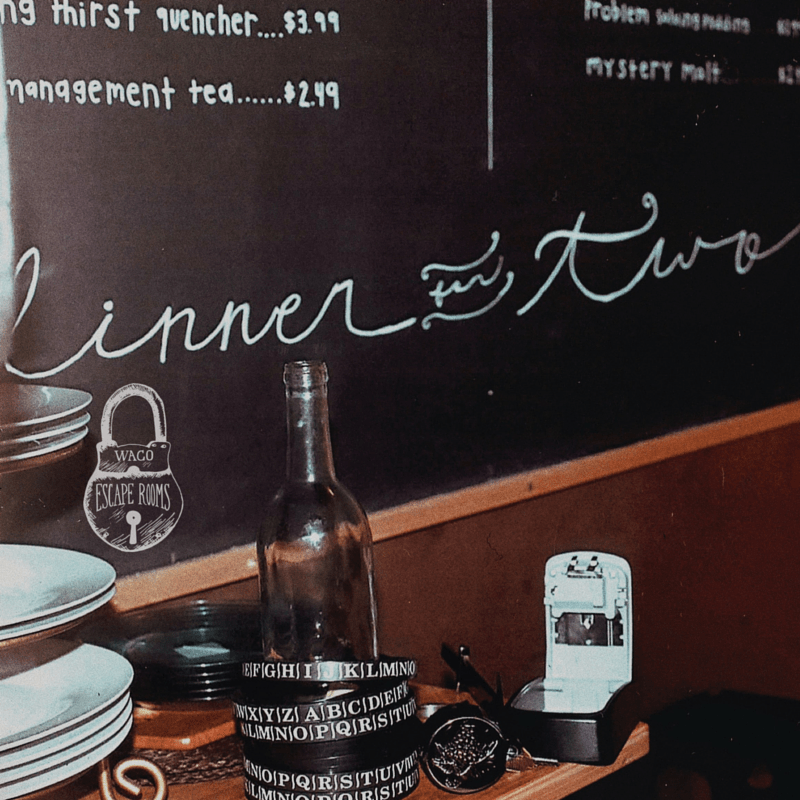 Waco Escape Rooms - Dinner for Two